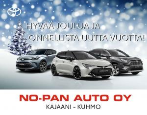 Toivotamme hyvää sekä rauhallista joulua ja kohdataan uusi vuosi yhdessä uudella tarmolla!