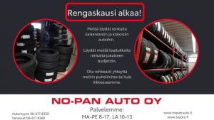 Kajaani hoi!  Onko edessäsi renkaidenvaihto tai uusiminen?  Meiltä löydät kesärenkaat monipuolisesta valikoimastamme jokaiseen b...