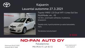 Aurinkoisen viikonlopun kunniaksi lauantai auton lisäksi lauantai tarjouksessa vahapesu huomenna 27.3.2021 20€ per pesu!   Tarjo...