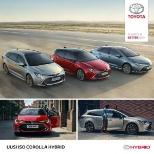 Seuraavan sukupolven Corolla Hybrid on kohta Suomessa. Touring Sports. Hatchback. Sedan. Tutustu omaasi osoitteessa https://www.nopanauto.fi/yritys/ajankohtaista/uusi-iso-corolla-hybrid.html